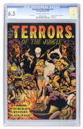 Golden Age (1938-1955):Horror, Terrors of the Jungle #17 (#1) (Star, 1952) CGC FN+ 6.5 Off-whiteto white pages....
