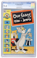 Golden Age (1938-1955):Cartoon Character, Our Gang #49 File Copy (Dell, 1948) CGC NM 9.4 Off-white to whitepages....