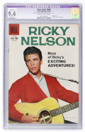 Silver Age (1956-1969):Miscellaneous, Four Color #998 Ricky Nelson (Dell, 1959) CGC Apparent NM 9.4Slight (A) Off-white to white pages....