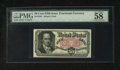 Fractional Currency:Fifth Issue, Fr. 1381 50c Fifth Issue PMG Choice About Unc 58 EPQ. ...