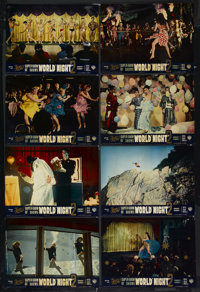 "World by Night No. 2 (Warner Brothers, 1961). British Lobby Card Set of 8 (10.5"" X 14""). Documentary. Starring..."