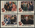 "Movie Posters:Romance, Mr. Skeffington (Warner Brothers, 1944). Lobby Cards (4) (11"" X 14""). Romance. Starring Bette Davis, Claude Rains, Walter Ab... (Total: 4)"