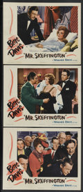 "Movie Posters:Romance, Mr. Skeffington (Warner Brothers, 1944). Lobby Cards (3) (11"" X 14""). Romance. Starring Bette Davis, Claude Rains, Walter Ab... (Total: 3)"