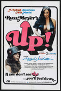 "Movie Posters:Sexploitation, Up! (RM International, 1976). One Sheet (27"" X 41""). Sexploitation.Starring Raven De La Croix, Candy Samples, Edward Schaaf..."