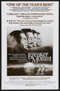 "Movie Posters:Drama, Breaker Morant (New World, 1980). One Sheet (27"" X 41""). Drama. Starring Edward Woodward, Jack Thompson, John Waters, Bryan ..."