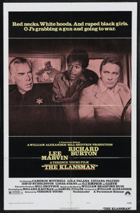 "The Klansman (Paramount, 1974). One Sheet (27"" X 41"") Style B. Action. Starring Lee Marvin, Richard Burton, O..."