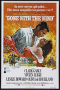 "Movie Posters:Academy Award Winner, Gone with the Wind (MGM, R-1974). One Sheet (27"" X 41""). AcademyAward Winner. Starring Clark Gable, Vivien Leigh, Leslie Ho..."