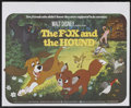 "Movie Posters:Animated, The Fox and the Hound (Buena Vista, 1981). British Quad (30"" X40""). Animated. Starring the voices of Mickey Rooney, Kurt R..."