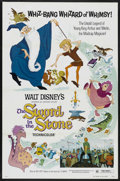 "Movie Posters:Animated, The Sword in the Stone (Buena Vista, R-1973). One Sheet (27"" X 41""). Action. Starring Sebastian Cabot, Karl Swenson, Rickie ..."