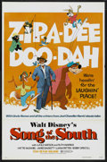 "Movie Posters:Animated, Song of the South (Buena Vista, R-1973). One Sheet (27"" X 41"").Animated. Starring James Baskett, Bobby Driscoll, Ruth Warri..."