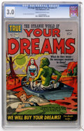 Golden Age (1938-1955):Science Fiction, Strange World of Your Dreams #1 (Prize, 1952) CGC GD/VG 3.0 Creamto off-white pages....