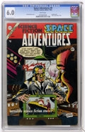 Golden Age (1938-1955):Science Fiction, Space Adventures #9 (Charlton, 1954) CGC FN 6.0 White pages....