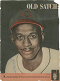 Autographs:Photos, Satchel Paige Signed Magazine Photo....