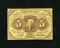 Fractional Currency:First Issue, Fr. 1231 5c First Issue Very Fine....