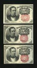 Fractional Currency:Fifth Issue, Fr. 1265 10c Fifth Issue Very Choice New. Fr. 1266 10c Fifth Issue.Two Examples. Very Choice New; Choice New.. ... (Total: 3 notes)