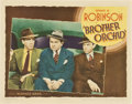 "Movie Posters:Crime, Brother Orchid (Warner Brothers, 1940). Lobby Card (11"" X 14"")....."