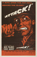 "Movie Posters:War, Attack! (United Artists, 1956). One Sheet (27"" X 41"") Style B.. ..."