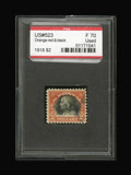 Stamps, #523, 1918, $2 Orange Red & Black, F 70 PSE. (Used).... (Total: 1 Slab)