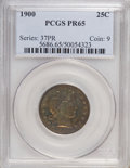 Proof Barber Quarters: , 1900 25C PR65 PCGS. PCGS Population (24/27). NGC Census: (44/60). Mintage: 912. Numismedia Wsl. Price for NGC/PCGS coin in ...
