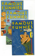 Golden Age (1938-1955):Miscellaneous, Famous Funnies File Copies Group (Eastern Color, 1945-46) Condition: Average VF+.... (Total: 8 Comic Books)