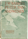 Books:Children's Books, J. M. Barrie. Peter Pan & Wendy. Retold by May Byronfor Little People.... London, [ca. 1932]....
