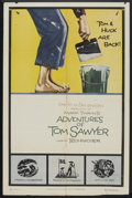 "Movie Posters:Adventure, The Adventures of Tom Sawyer (United Artists, R-1958). One Sheet(27"" X 41"") Style B and Stills (8) (8"" X 10""). Adventure....(Total: 9 Items)"