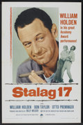 "Movie Posters:War, Stalag 17 (Paramount, R-1959). One Sheet (27"" X 41""). War...."