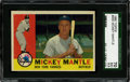Baseball Cards:Singles (1960-1969), 1960 Topps Mickey Mantle #350 SGC 70 EX+ 5.5....