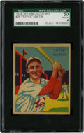 Baseball Cards:Singles (1930-1939), 1934-36 Diamond Stars Pepper Martin #26 SGC 50 VG/EX 4....