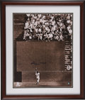 "Autographs:Photos, Willie Mays Signed ""The Catch"" Framed Oversized Photograph. ..."