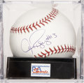 "Autographs:Baseballs, Alex Rodriguez ""#13"" Single Signed Baseball, PSA Gem Mint 10...."