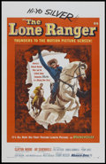 """Movie Posters:Western, The Lone Ranger (Warner Brothers, 1956). One Sheet (27"""" X 41""""). Western...."""