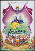 "Movie Posters:Animated, Snow White and the Seven Dwarfs (Buena Vista, R-1993). One Sheet (27"" X 40"") SS. Animated...."