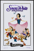"Movie Posters:Animated, Snow White and the Seven Dwarfs (Buena Vista, R-1987). One Sheet(27"" X 41"") 50th Anniversary Style. Animated...."