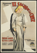 "Movie Posters:Drama, The Sign of the Cross (Paramount, 1932). Spanish One Sheet (27.5"" X39.5""). Drama...."