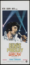 "Movie Posters:Elvis Presley, That's the Way It Is (MGM, 1971). Italian Locandina (12.75"" X27.75""). Elvis Presley.. ..."