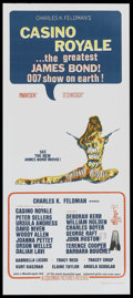 "Movie Posters:James Bond, Casino Royale (Columbia, 1967). Australian Daybill (13"" X 30"").James Bond...."