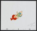 "Movie Posters:Animated, The Flintstones (ABC Television, 1966). Animation Cel (10.5"" X12.5"") ""Pebbles."" Animated...."