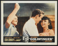 "Movie Posters:James Bond, Goldfinger (United Artists, 1964). Lobby Cards (4) (11"" X 14"").James Bond.... (Total: 4 Items)"