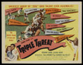 "Movie Posters:Sports, Triple Threat (Columbia, 1948). One Sheet (27"" X 41""). Sports...."