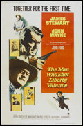 """Movie Posters:Western, The Man Who Shot Liberty Valance (Paramount, 1962). Poster (40"""" X 60""""). Western...."""