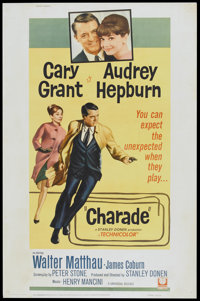 """Charade (Universal, 1963). Poster (40"""" X 60""""). Mystery"""