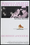 "Movie Posters:Crime, Bonnie and Clyde (Warner Brothers-Seven Arts, 1967). Poster (40"" X60""). Crime...."