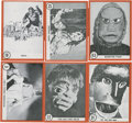 "Non-Sport Cards:General, 1963 Rosan ""Famous Monsters Series"" Complete Set (64)..."