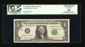 Error Notes:Miscellaneous Errors, Fr. 1912-H $1 1981A Federal Reserve Note. PCGS Apparent Choice New 63.. ...