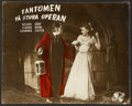 """Movie Posters:Horror, Phantom of the Opera (Universal, 1943). French Lobby Cards (2)(15.5"""" X 19.25""""). Horror.... (Total: 2 Item)"""