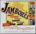 "Movie Posters:Rock and Roll, Jamboree (Warner Brothers, 1957). Six Sheet (81"" X 81""). Rock andRoll...."