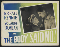 "The Body Said No! (Eros Films, 1950). Canadian Lobby Card Set of 8 (11"" X 14""). Comedy.... (Total: 8 Items)"