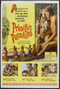 "Movie Posters:Documentary, Primitive Paradise (Excelsior, 1961). Poster (40"" X 60""). Documentary...."