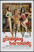 "Movie Posters:Sexploitation, The Swinging Barmaids Lot (Premiere Releasing, 1975). One Sheets(5) (Various Sizes) Flat-Folded, Poster (23.5"" X 35""), and ...(Total: 7 Items)"